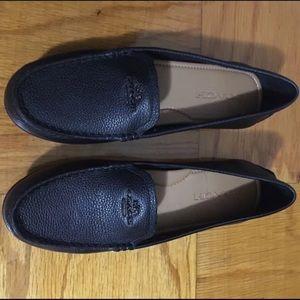 Coach leather flats 6.5